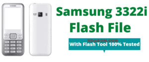 Samsung 3322i Flash File