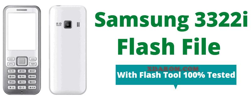 Samsung 3322i Flash File