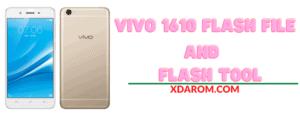 Vivo 1610 Flash File