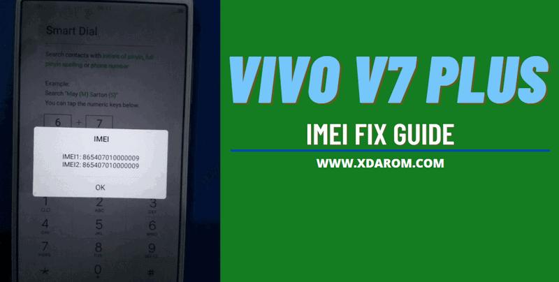 Vivo V7 Plus IMEI Repair