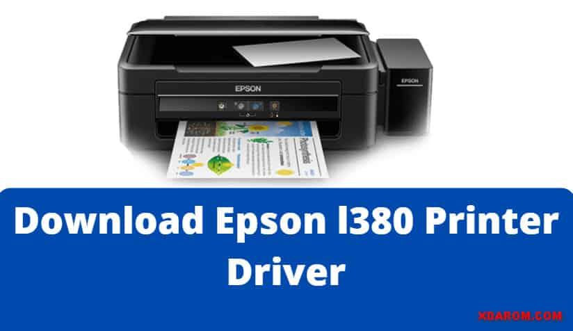 Epson l380 Printer Driver