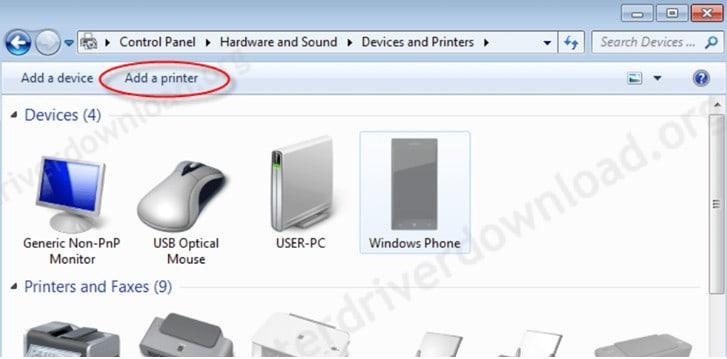 L380 Printer Driver Add in your PC