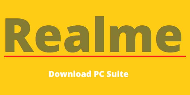 Realme PC Suite