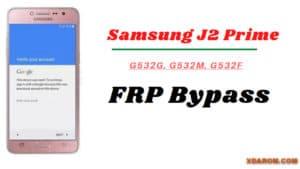 Samsung G532G FRP File