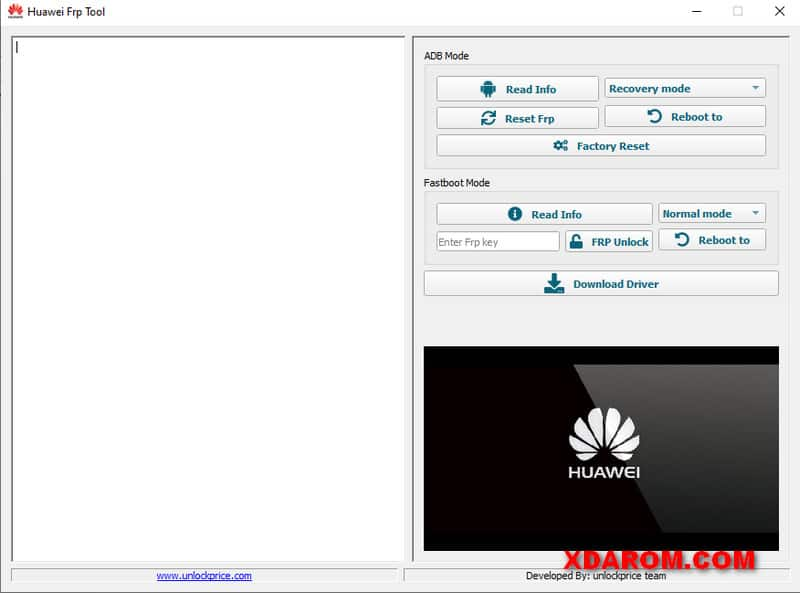 Huawei FRP Fastboot Bypass Tool