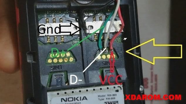 Nokia 220 USB Pinout