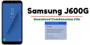 Samsung J600G Combination Firmware