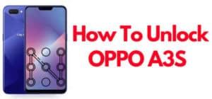 OPPO A3S Pattern Unlock File