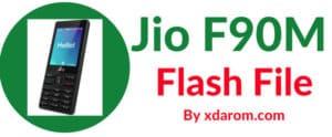 Jio F90M Flash File